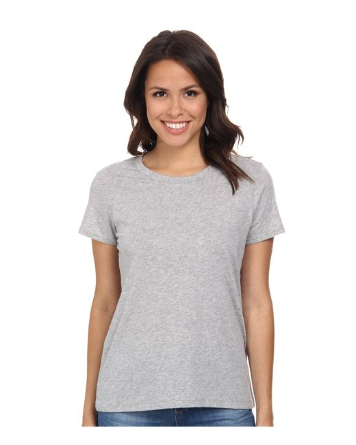 Michael Stars | Gray Short Sleeve Crew Neck Tee | Lyst