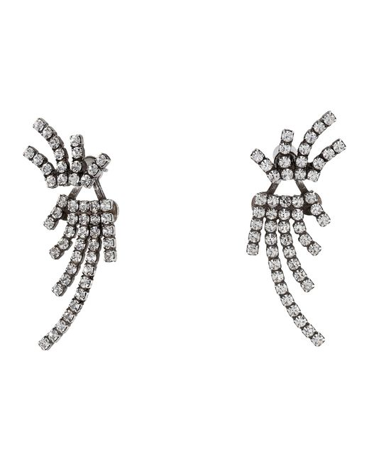 DANNIJO | Metallic Willis Ear Jacket Earrings | Lyst