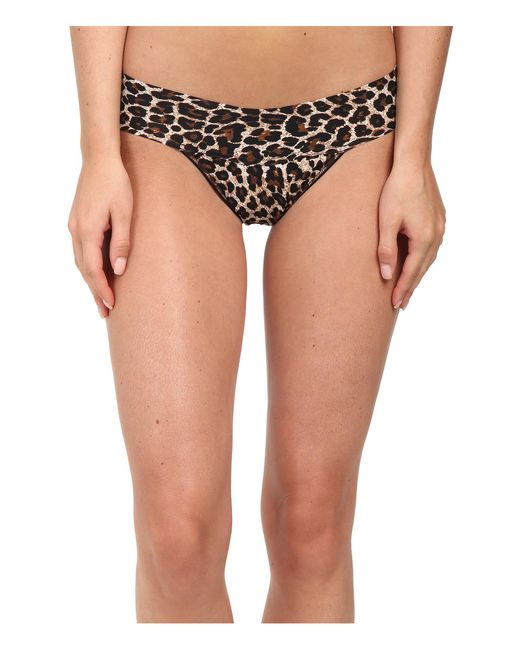 Hanky Panky   Multicolor Leopard Bare® Eve Thong   Lyst