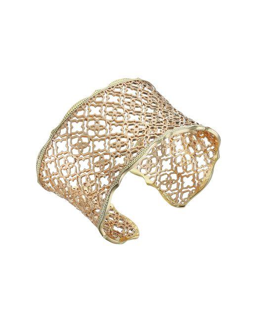 Kendra Scott   Metallic Candice Bracelet   Lyst