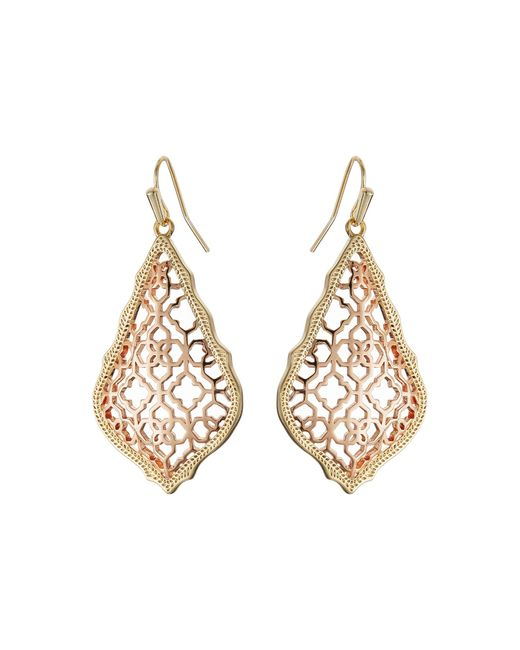 Kendra Scott | Metallic Addie Earrings | Lyst