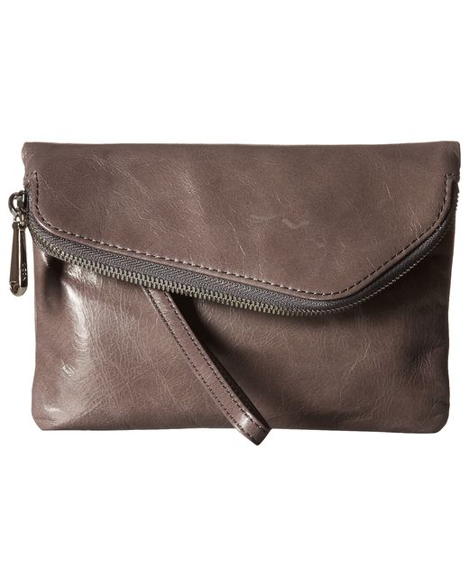 Hobo | Blue Daria Convertible Leather Clutch Crossbody | Lyst