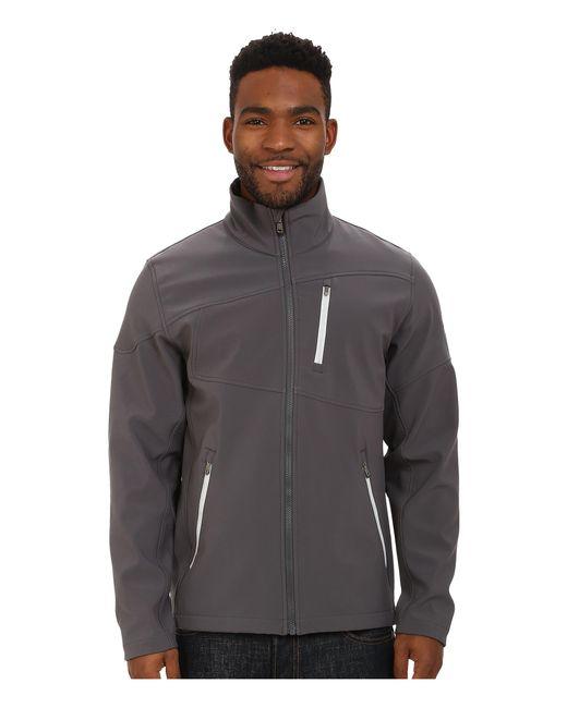 Spyder | Gray Fresh Air Soft Shell Jacket for Men | Lyst