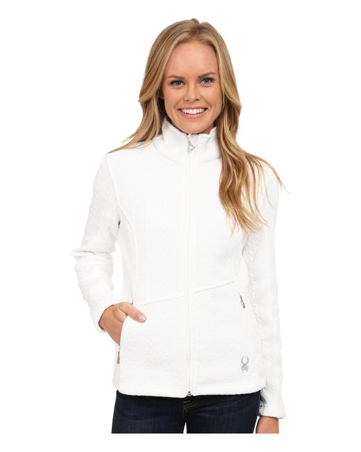 Spyder | White Major Cable Core Sweater | Lyst