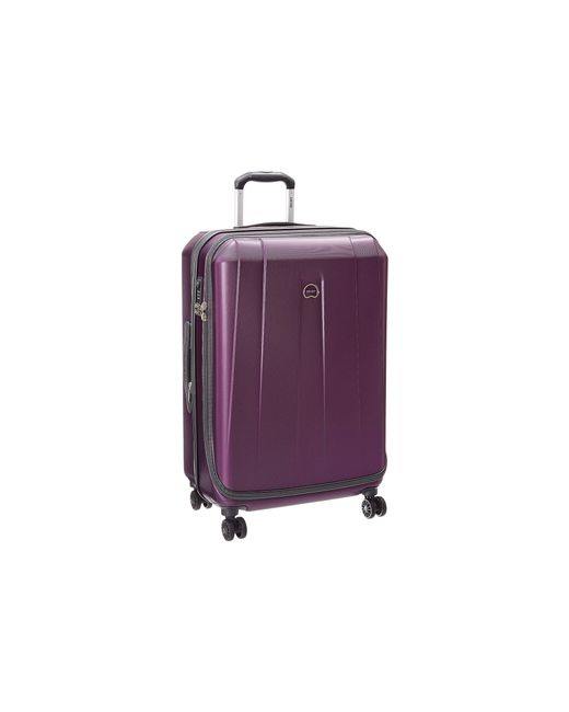 "Delsey | Purple Helium Shadow 3.0-25"" Expandable Spinner Suiter Trolley 