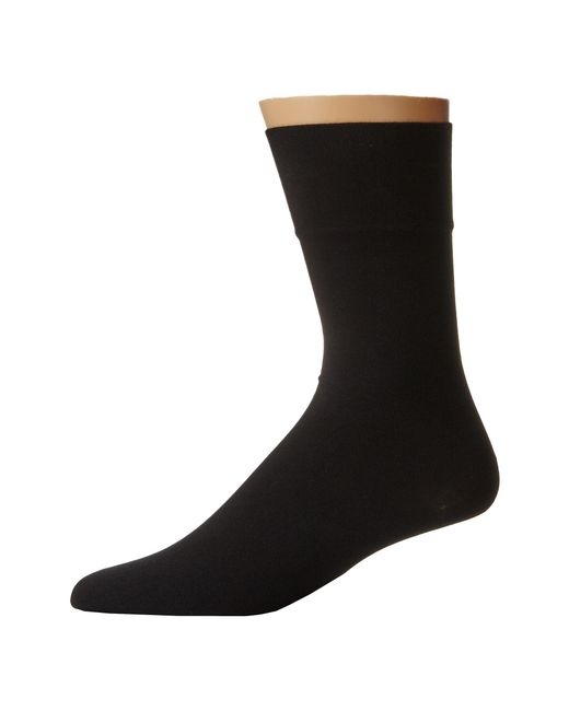 Wolford | Black Cotton Velvet Socks for Men | Lyst