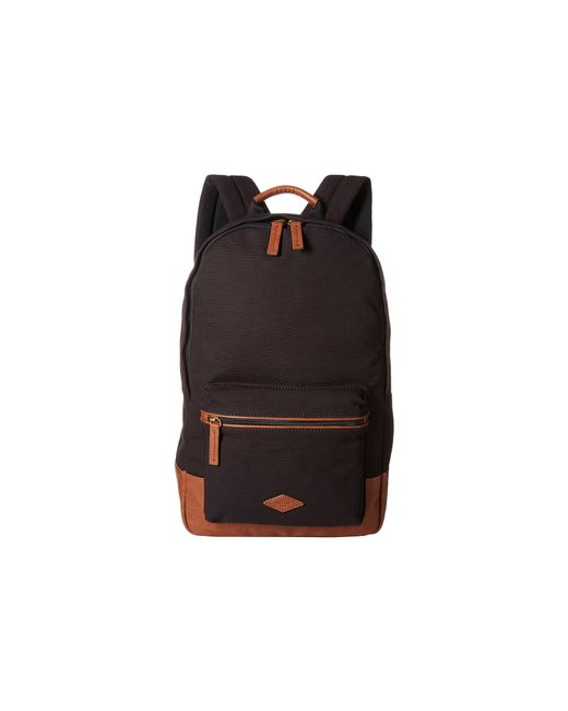 Fossil | Black Estate Backpack for Men | Lyst