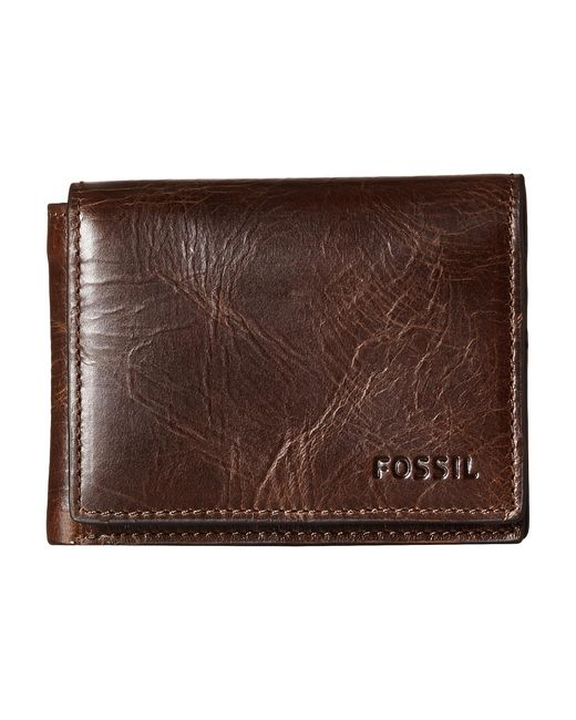 Fossil | Brown Derrick Execufold for Men | Lyst