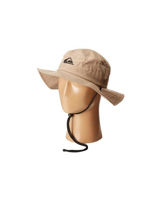 Quiksilver | Natural Bushmaster Hat for Men | Lyst