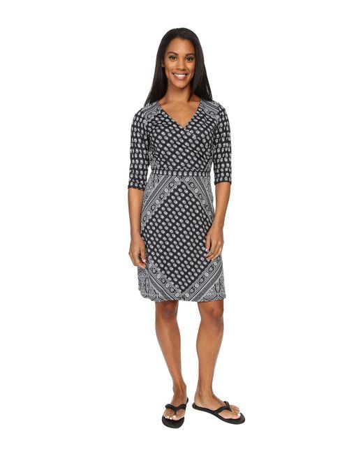 Prana | Gray Belladonna Long Sleeve Dress | Lyst