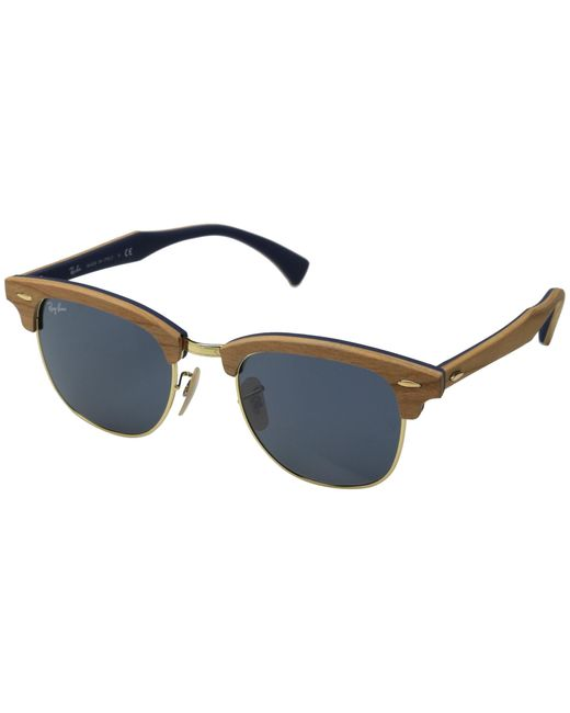 Ray-Ban | Brown Clubmaster 51mm | Lyst