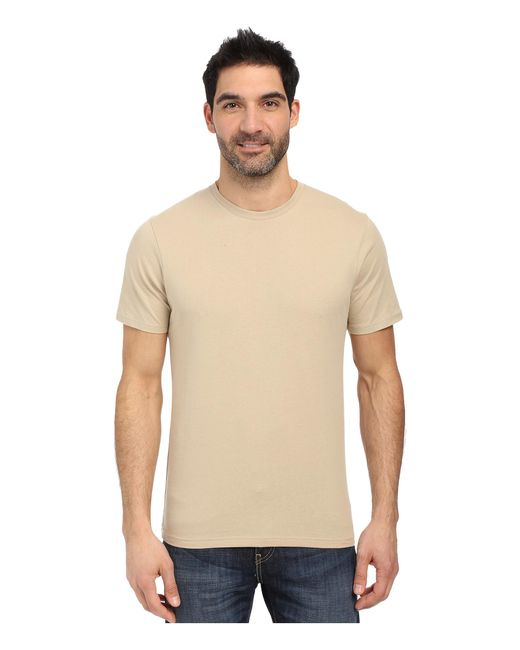 Under Armour | Natural Ua Tac Charged Cotton Tee for Men | Lyst