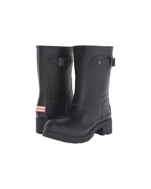 Hunter | Black Original Ankle Boot | Lyst