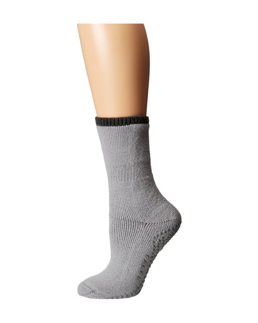 Falke | Gray Cuddle Pad Sock | Lyst