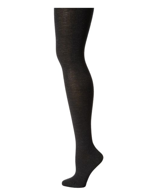 Falke | Gray Soft Merino Tights | Lyst