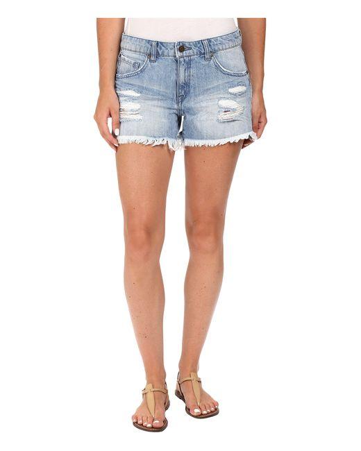 "Volcom | Blue Stoned Shorts 3"" | Lyst"