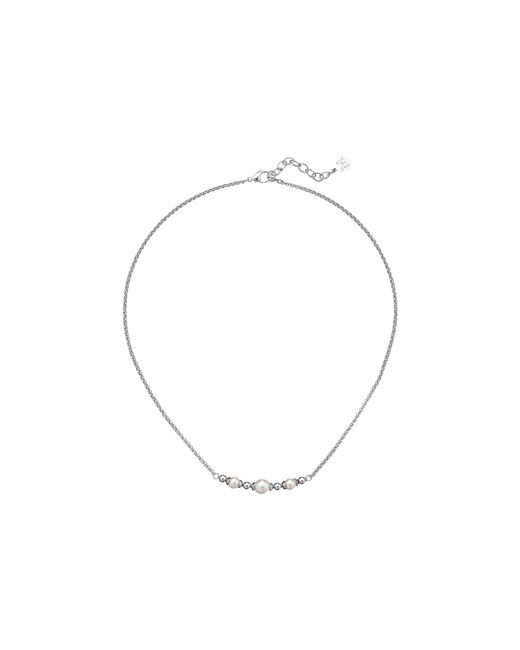 Majorica | Metallic Allison Bar Necklace | Lyst