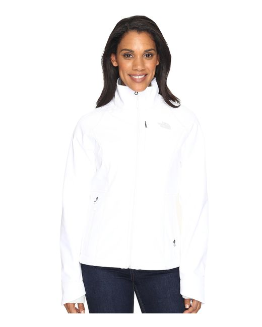 The North Face | White Apex Bionic Jacket | Lyst