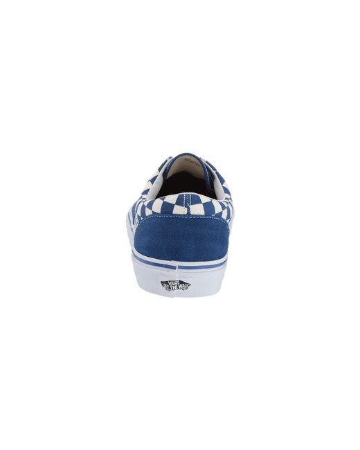 0b9b05f120 ... Vans - Blue Eratm ((checkerboard) Multi true White) Skate Shoes for ...