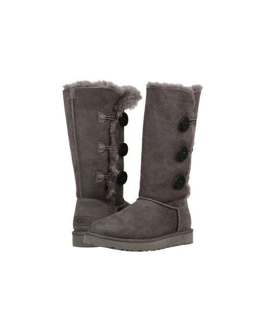 Ugg | Gray Bailey Button Triplet Ii | Lyst