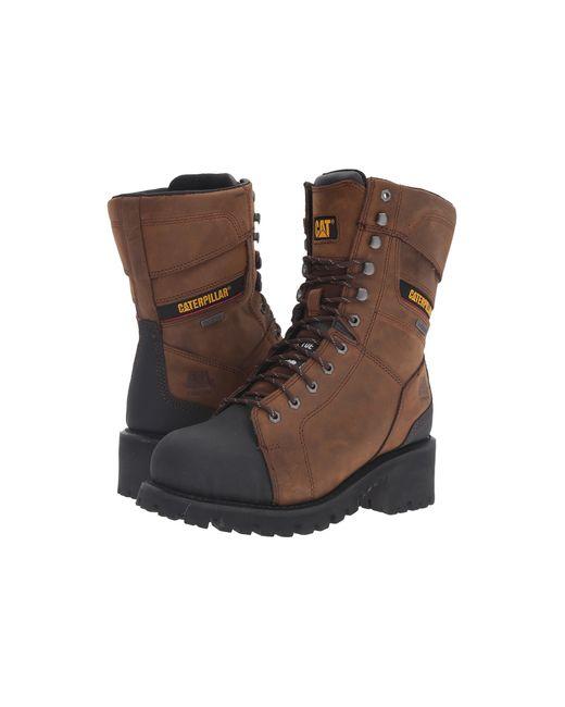 Caterpillar | Brown Casebolt Waterproof Tx Steel Toe for Men | Lyst