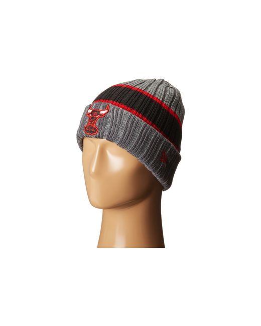 KTZ | Red Stripe Chiller Chicago Bulls Hwc for Men | Lyst