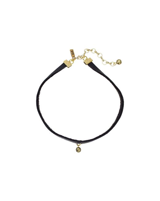 Vanessa Mooney | Metallic The Rose Choker Necklace | Lyst
