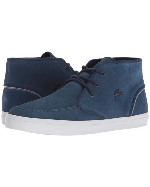 Lacoste   Blue Men's Sevrin Mid 316 1 Chukka Trainers for Men   Lyst