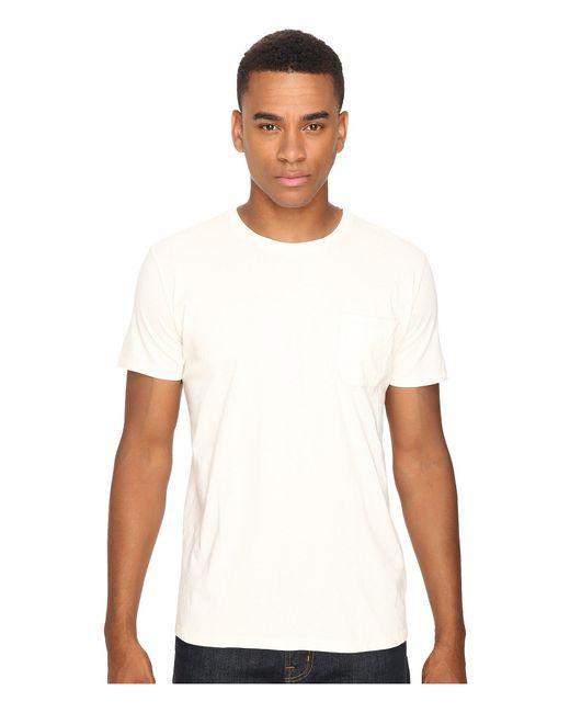 Richer Poorer - White Pocket Tee 2-pack (natural) Men's T Shirt for Men - Lyst