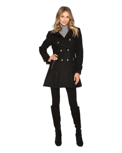 Jessica Simpson   Black Military Double Breasted Braided Wool   Lyst