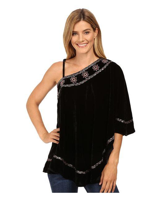 Double D Ranchwear   Black Bunuelo Poncho   Lyst