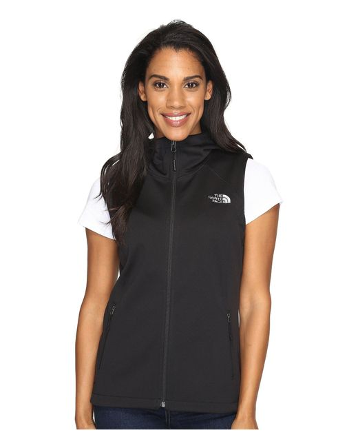 The North Face   Black Canyonwall Hoodie Vest   Lyst