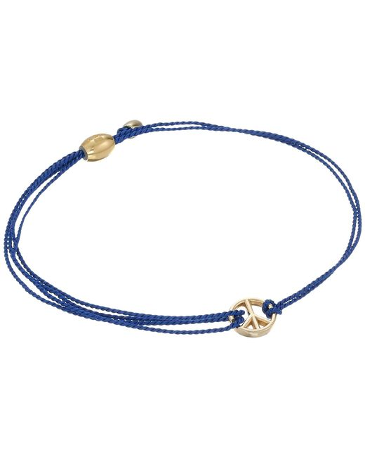 ALEX AND ANI   Kindred Cord Peace Blue   Lyst