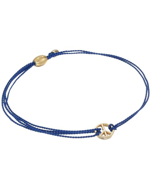 ALEX AND ANI | Kindred Cord Peace Blue | Lyst