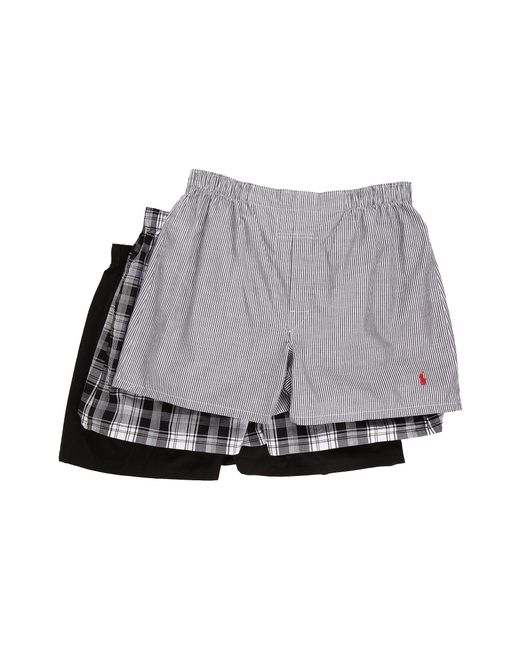 Polo Ralph Lauren - Multicolor 3-pack Woven Boxer for Men - Lyst