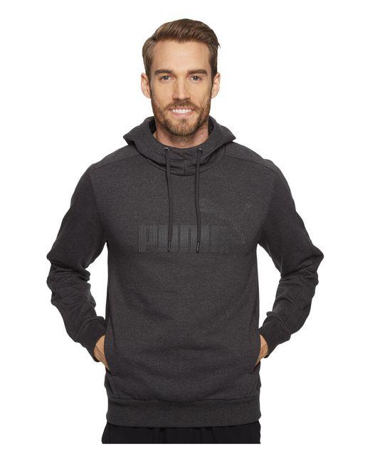 PUMA | Gray P48 Core Hoodie for Men | Lyst