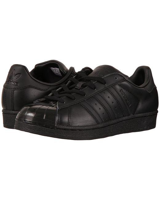 Adidas Originals   Black Superstar Glossy Toe for Men   Lyst