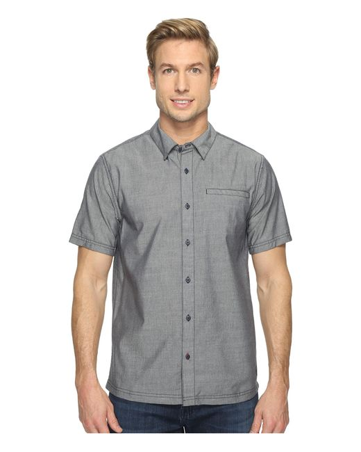 Smartwool | Blue Summit County Chambray Short Sleeve for Men | Lyst