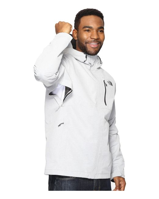 a88c339e48 The North Face Gray Dryzzle Jacket for Men Lyst .