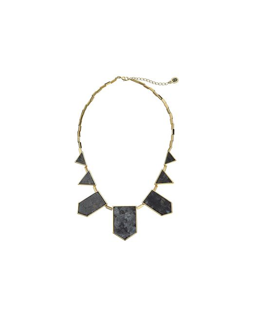 House of Harlow 1960 | Black Classic Station Necklace | Lyst