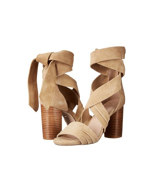 Raye | Brown Mia Suede Sandals | Lyst