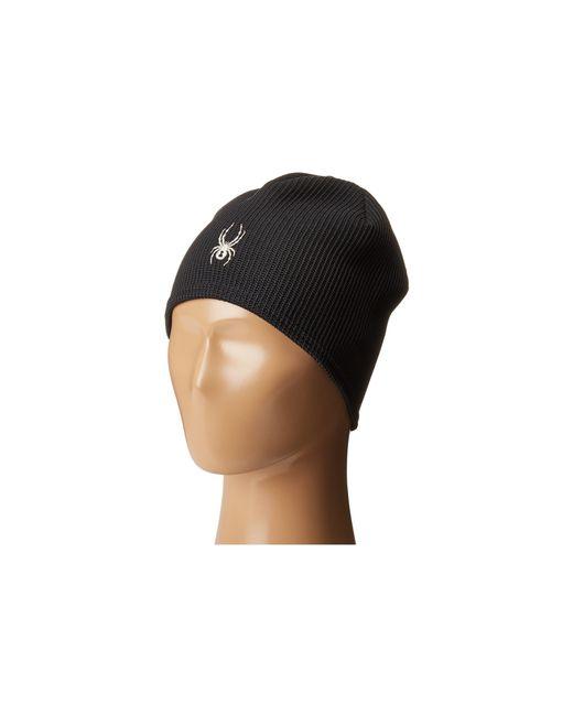 Spyder   Black Women's Stryke Core Fleece Beanie for Men   Lyst
