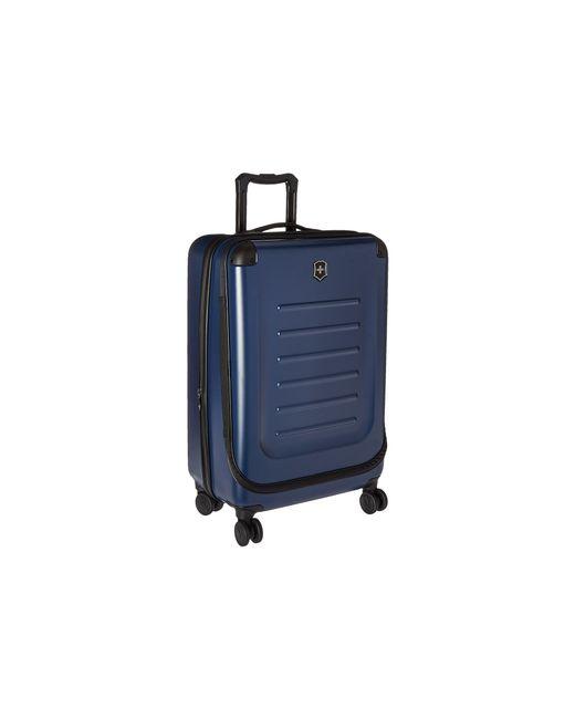 "Victorinox | Blue Werks Traveler 5.0 27"" Dual Caster Spinner Suitcase for Men | Lyst"