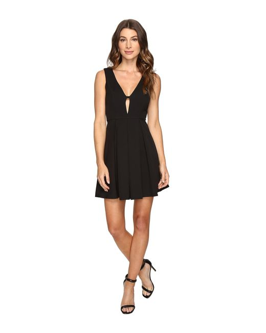 Brigitte Bailey | Black Nia Pleated Tank Dress | Lyst
