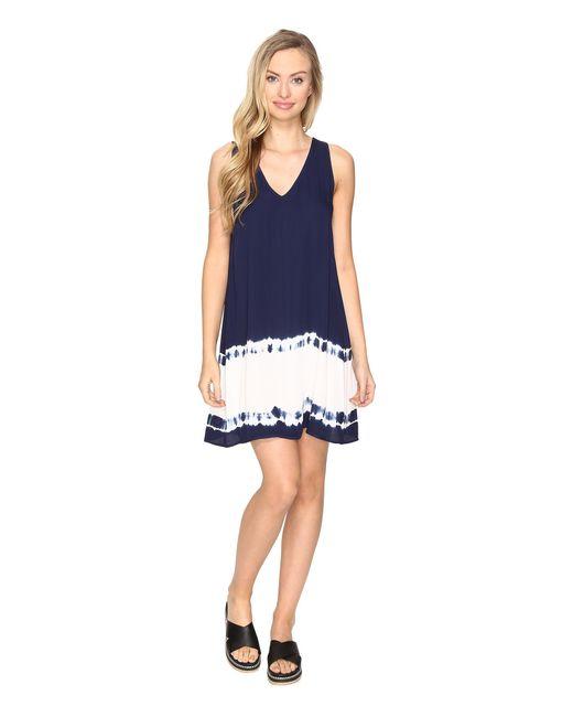 BB Dakota | Blue Kaley Ombre Shift Dress | Lyst