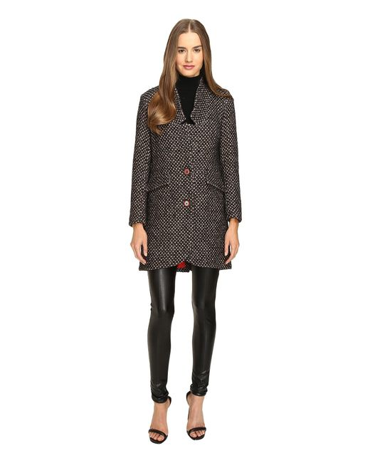 Manila Grace | Brown Tweed Coat | Lyst