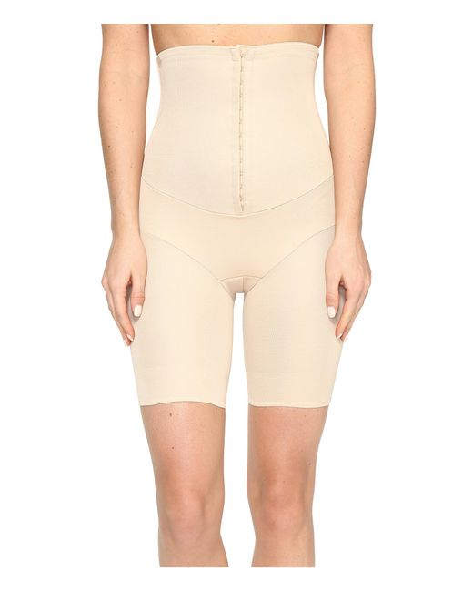 Miraclesuit | Natural Inches Off Hook & Eye Waist Cinching Thigh Slimmer | Lyst