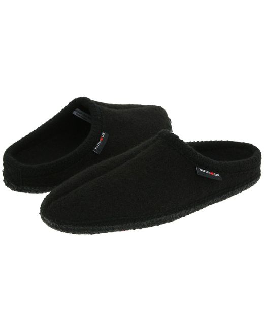 Haflinger - Black As Classic Slipper (grey) Slippers - Lyst