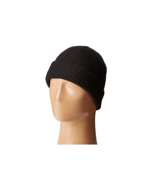 Volcom | Black Sweep Lined Beanie for Men | Lyst