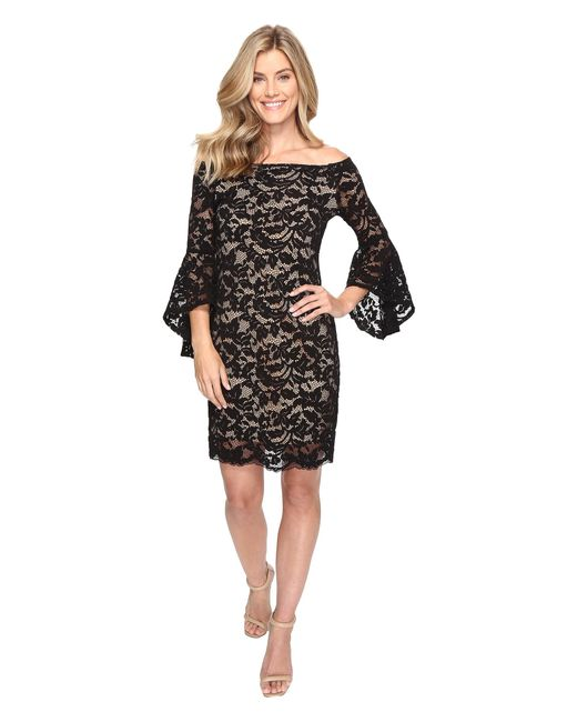 Karen Kane | Black Samantha Lace Dress | Lyst